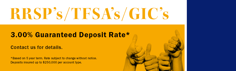 Guaranteed Deposit Rate